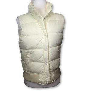 Abercrombie Down Quilted Puffer Vest  New w/ Tags